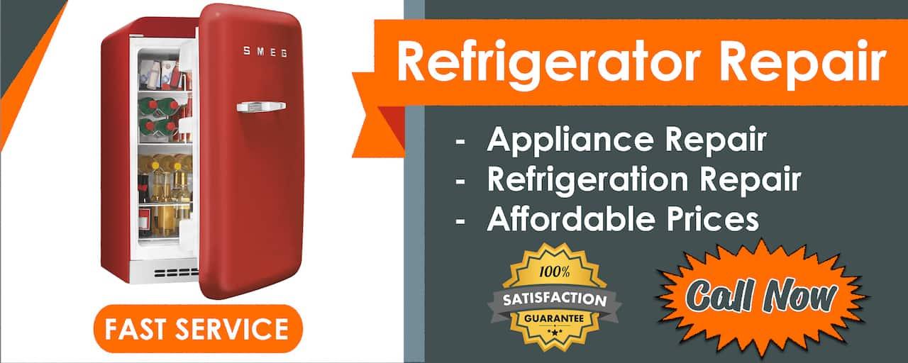 refrigerator repair service banner